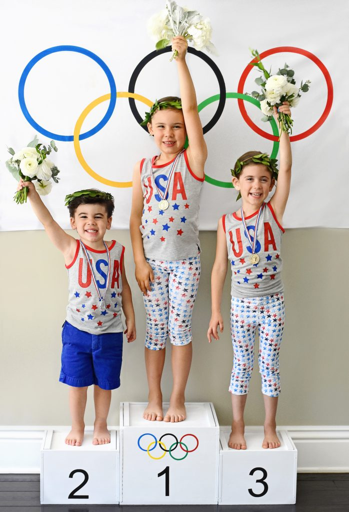DIY Olympics Podium